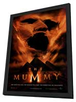 The Mummy - 27 x 40 Movie Poster - Style A - in Deluxe Wood Frame
