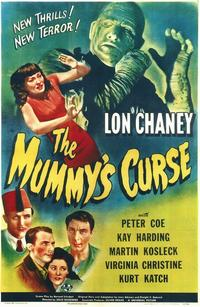 The Mummy's Curse - 11 x 17 Movie Poster - Style A