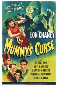 The Mummy's Curse - 27 x 40 Movie Poster - Style A
