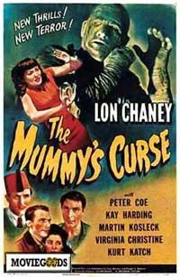 The Mummy's Curse - 43 x 62 Movie Poster - Bus Shelter Style A