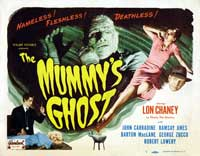 The Mummy's Ghost - 22 x 28 Movie Poster - Half Sheet Style A