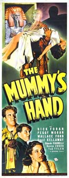 The Mummy's Hand - 14 x 36 Movie Poster - Insert Style A