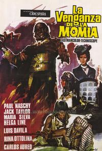 The Mummy's Revenge - 27 x 40 Movie Poster - Spanish Style A