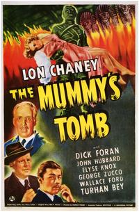 The Mummy's Tomb - 43 x 62 Movie Poster - Bus Shelter Style A