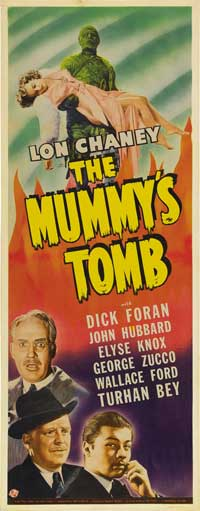 The Mummy's Tomb - 14 x 36 Movie Poster - Insert Style A