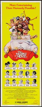 The Muppet Movie - 14 x 36 Movie Poster - Insert Style A