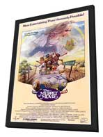 The Muppet Movie - 11 x 17 Movie Poster - Style C - in Deluxe Wood Frame