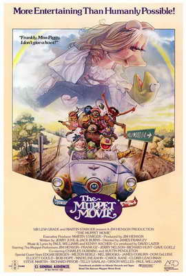 The Muppet Movie - 27 x 40 Movie Poster - Style C