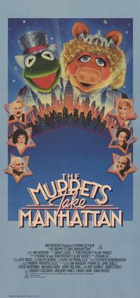 The Muppets Take Manhattan - 11 x 17 Movie Poster - Style B