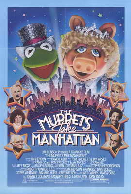The Muppets Take Manhattan - 27 x 40 Movie Poster - Style A