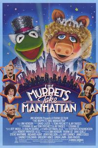 The Muppets Take Manhattan - 11 x 17 Movie Poster - Style A - Museum Wrapped Canvas