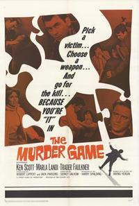 Murder Game - 27 x 40 Movie Poster - Style A