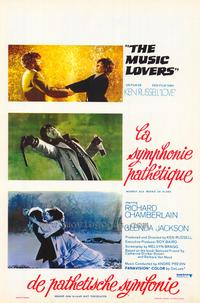 The Music Lovers - 11 x 17 Movie Poster - Belgian Style A