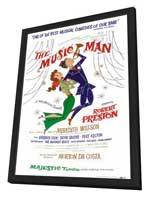 the Music Man (Broadway) - 27 x 40 Poster - Style A - in Deluxe Wood Frame