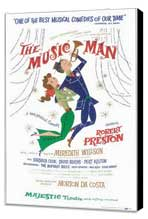 the Music Man (Broadway) - 11 x 17 Poster - Style A - Museum Wrapped Canvas