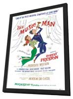 the Music Man (Broadway) - 11 x 17 Poster - Style A - in Deluxe Wood Frame