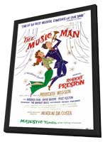 the Music Man (Broadway) - 14 x 22 Poster - Style A - in Deluxe Wood Frame