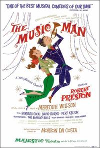 the Music Man (Broadway) - 14 x 22 Poster - Style A