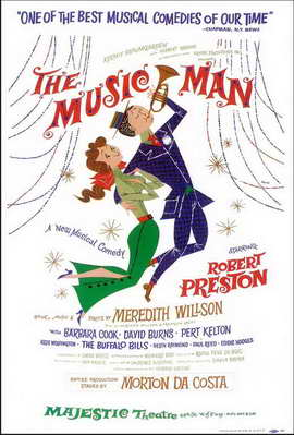 the Music Man (Broadway) - 11 x 17 Poster - Style A