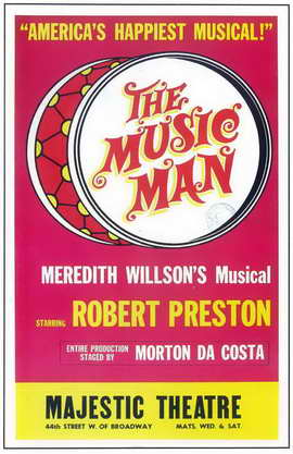 the Music Man (Broadway) - 11 x 17 Poster - Style B