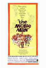 The Music Man - 27 x 40 Movie Poster - Style A