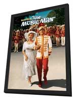 The Music Man - 27 x 40 Movie Poster - Style B - in Deluxe Wood Frame