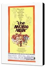The Music Man - 27 x 40 Movie Poster - Style A - Museum Wrapped Canvas