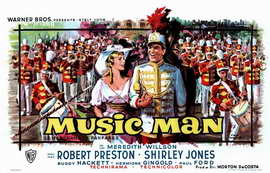 The Music Man - 11 x 17 Movie Poster - Belgian Style A