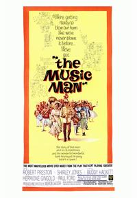 The Music Man - 43 x 62 Movie Poster - Bus Shelter Style A