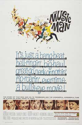 The Music Man - 27 x 40 Movie Poster - Style C