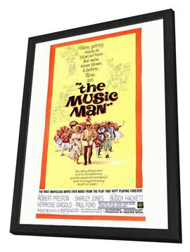 The Music Man - 11 x 17 Movie Poster - Style A - in Deluxe Wood Frame