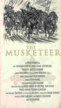 The Musketeer - 20 x 40 Movie Poster - Denmark Style A