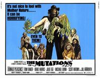 The Mutations - 22 x 28 Movie Poster - Half Sheet Style A