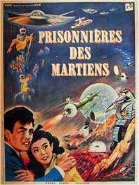 The Mysterians - 11 x 17 Movie Poster - French Style A