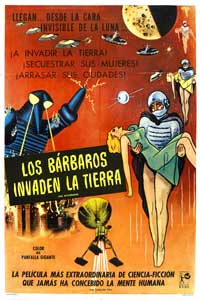 The Mysterians - 27 x 40 Movie Poster - Spanish Style A