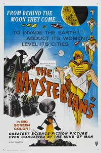 The Mysterians - 27 x 40 Movie Poster - Style A