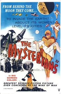 The Mysterians - 43 x 62 Movie Poster - Bus Shelter Style A