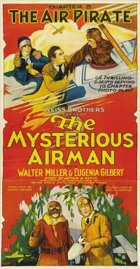 The Mysterious Airman - 11 x 17 Movie Poster - Style A