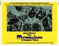 The Mysterious Island of Captain Nemo - 11 x 14 Movie Poster - Style A