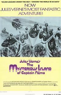The Mysterious Island of Captain Nemo - 11 x 17 Movie Poster - Style A
