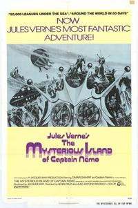 The Mysterious Island of Captain Nemo - 27 x 40 Movie Poster - Style A