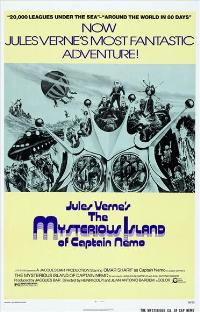 The Mysterious Island of Captain Nemo - 43 x 62 Movie Poster - Bus Shelter Style A