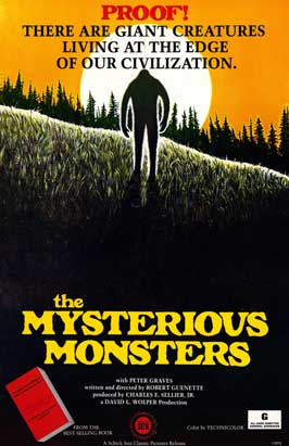 The Mysterious Monsters - 11 x 17 Movie Poster - Style A