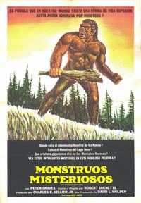 The Mysterious Monsters - 11 x 17 Movie Poster - Spanish Style A