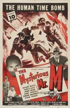 The Mysterious Mr. M - 11 x 17 Movie Poster - Style E
