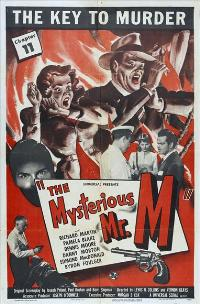The Mysterious Mr. M - 27 x 40 Movie Poster - Style A