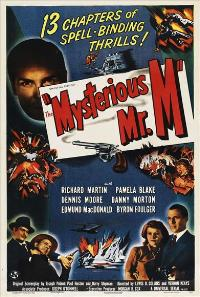 The Mysterious Mr. M - 27 x 40 Movie Poster - Style B