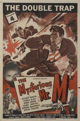 The Mysterious Mr. M - 11 x 17 Movie Poster - Style C