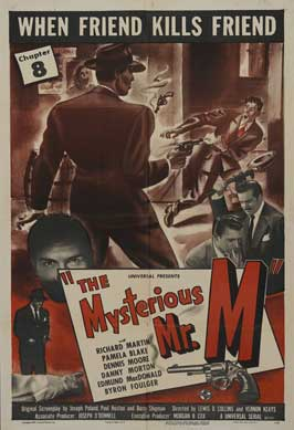 The Mysterious Mr. M - 11 x 17 Movie Poster - Style F