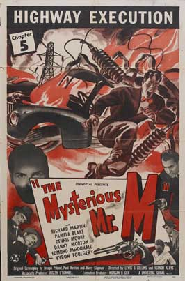 The Mysterious Mr. M - 11 x 17 Movie Poster - Style I